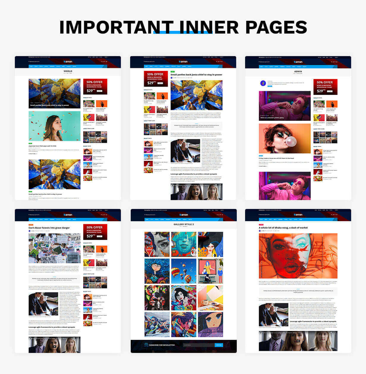 Darpan - News Magazine WordPress Theme - 7