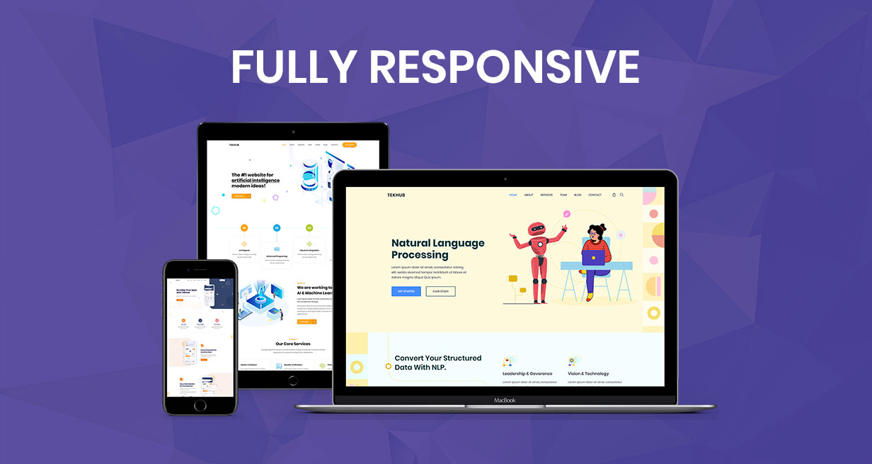 Tekhub - Multipurpose Technology & AI Startup HTML5 Template