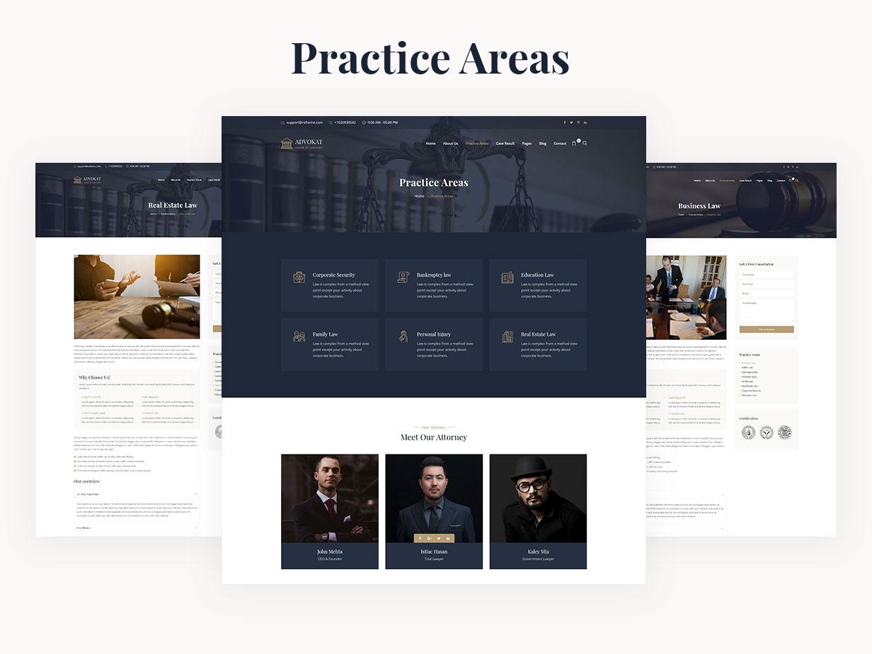 Advokat - Lawyer & Lawfirm WordPress Theme - 10