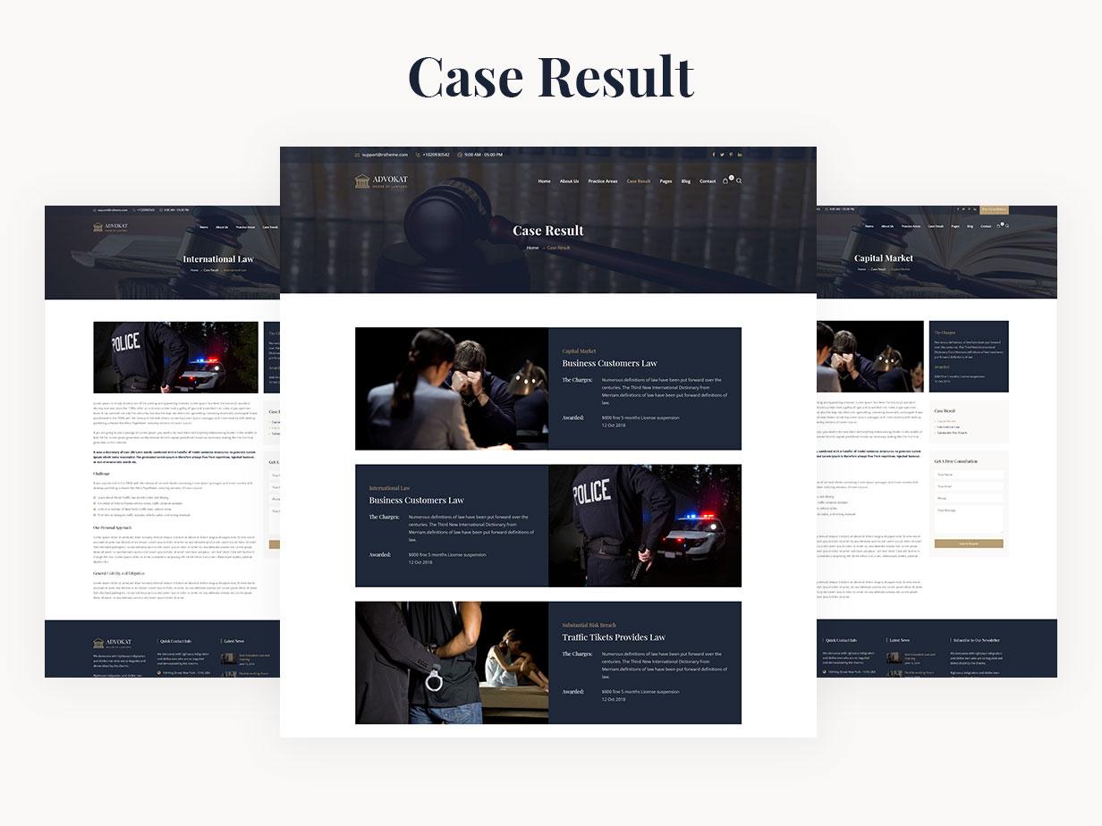 Advokat - Lawyer & Lawfirm WordPress Theme - 11