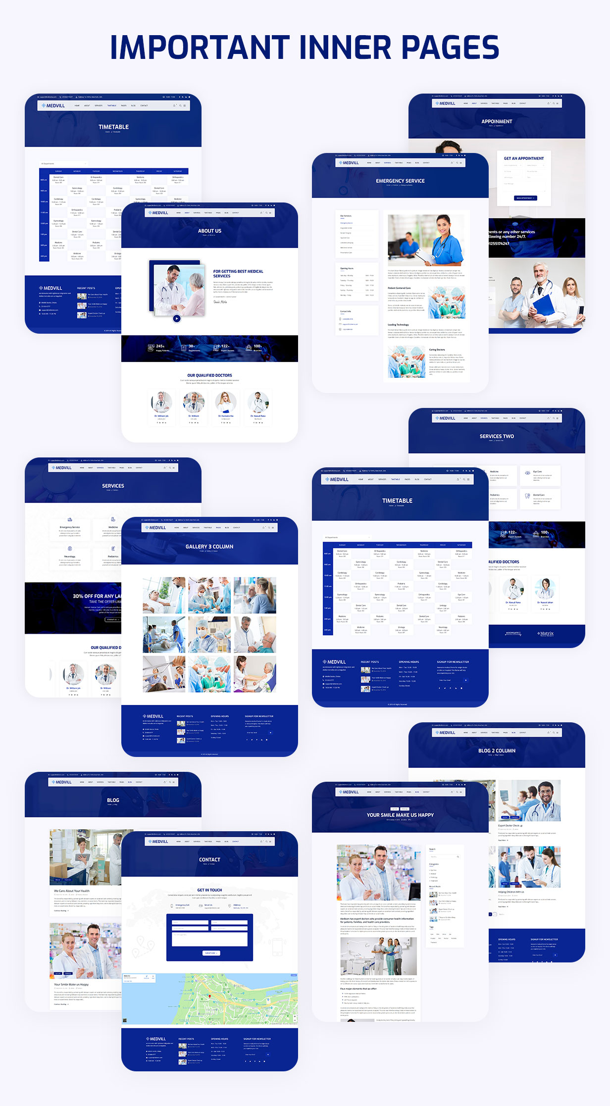 Medvill - Health & Medical WordPress Theme - 6