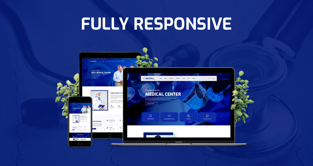 Medvill - Health & Medical WordPress Theme - 9