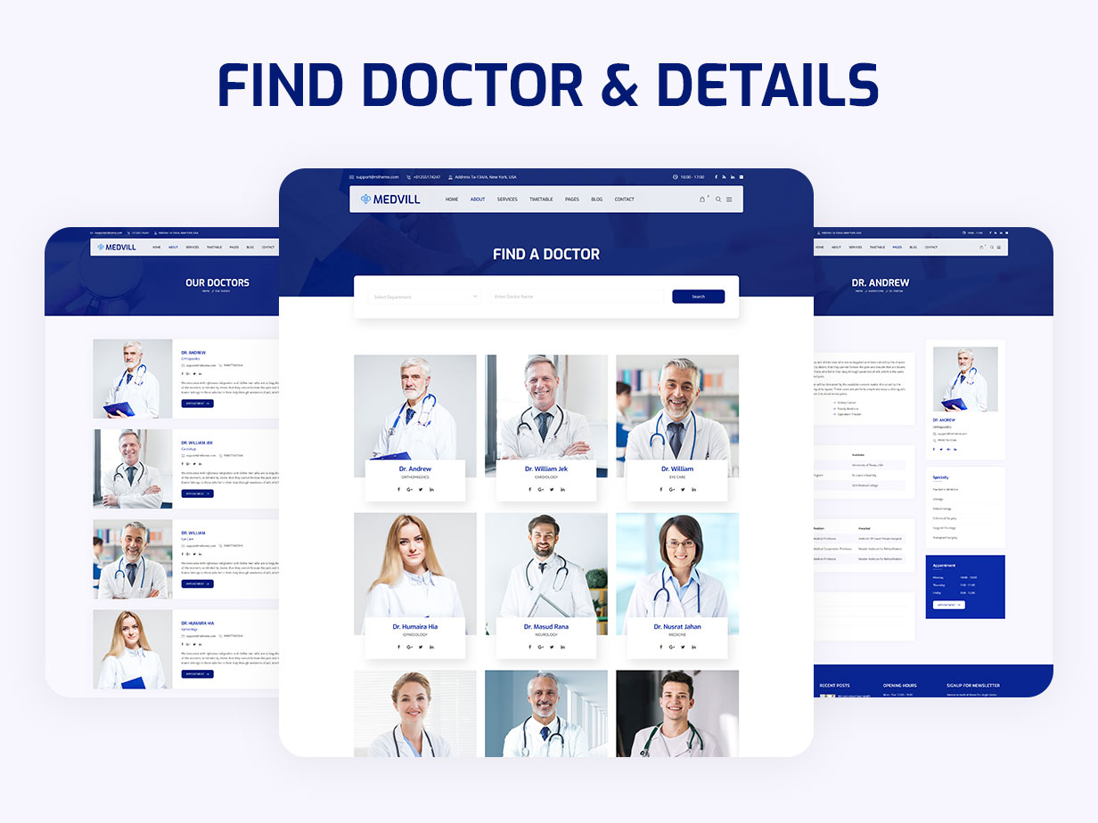 Medvill - Health & Medical WordPress Theme - 11