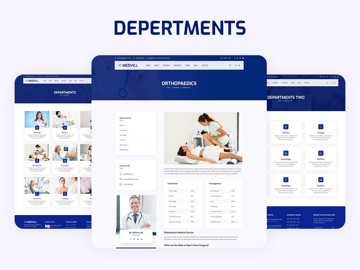 Medvill - Health & Medical WordPress Theme - 12