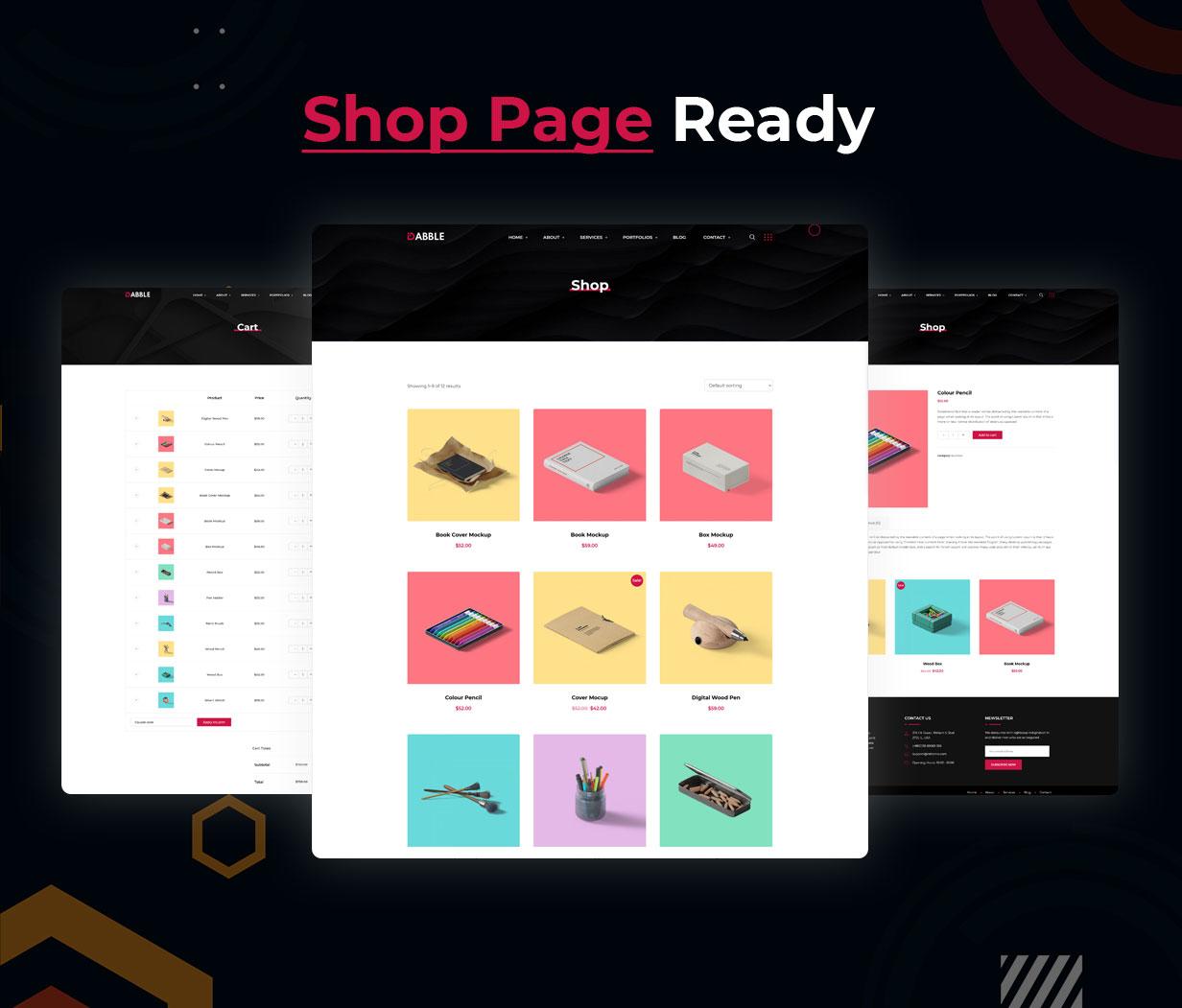 Dabble - Creative Agency & Portfolio WordPress