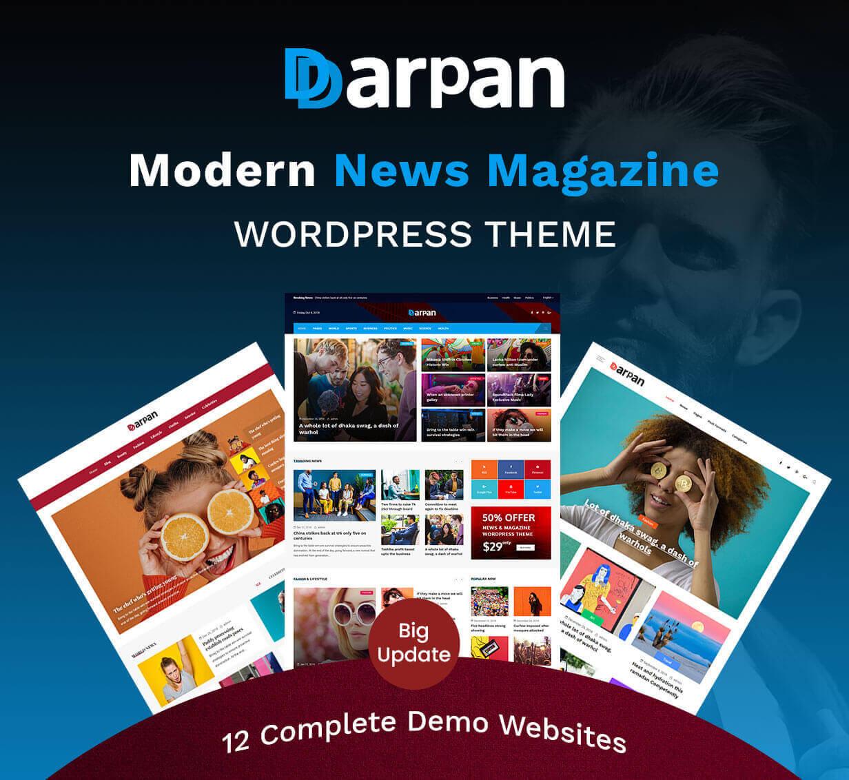 Darpan - News Magazine WordPress Theme - 4