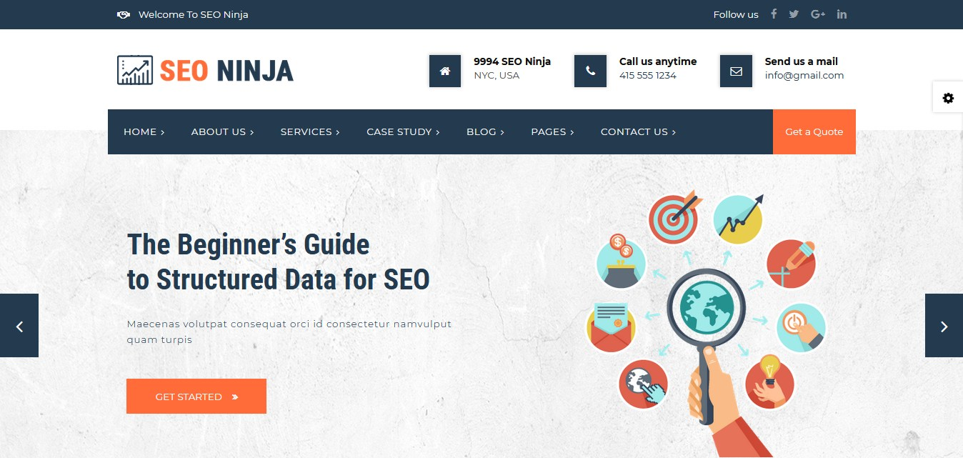 5 Best HTML SEO Template – RS Theme