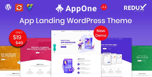 AppOne – App Landing WordPress Theme
