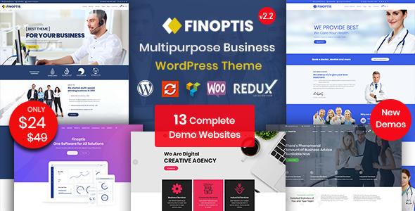 Finoptis – Multipurpose Business WordPress Theme