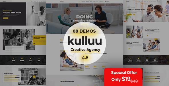 Kulluu – Creative Agency WordPress Theme