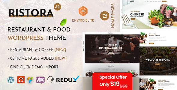 Ristora – Restaurant & Food WordPress Theme