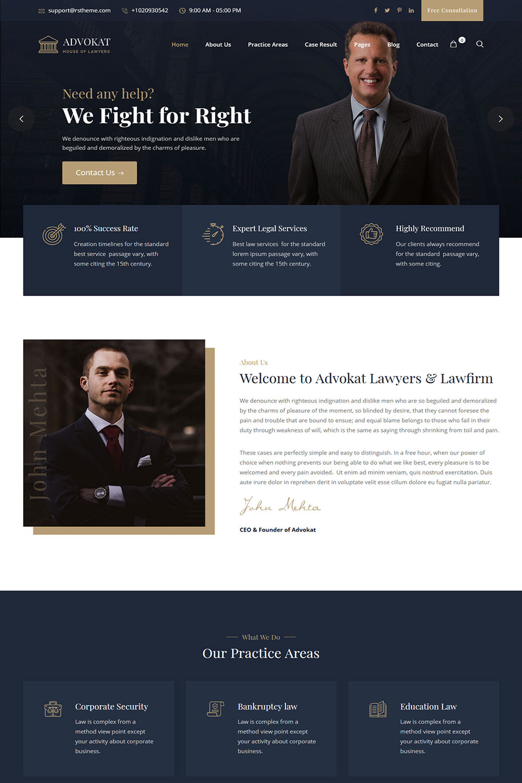 Advokat-Post